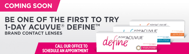 1-DAY ACUVUE® DEFINE™ website banner - horizontal